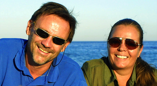 ROLF SCHMIDT AND PETRA ROEGLIN<br />2013 Inductee