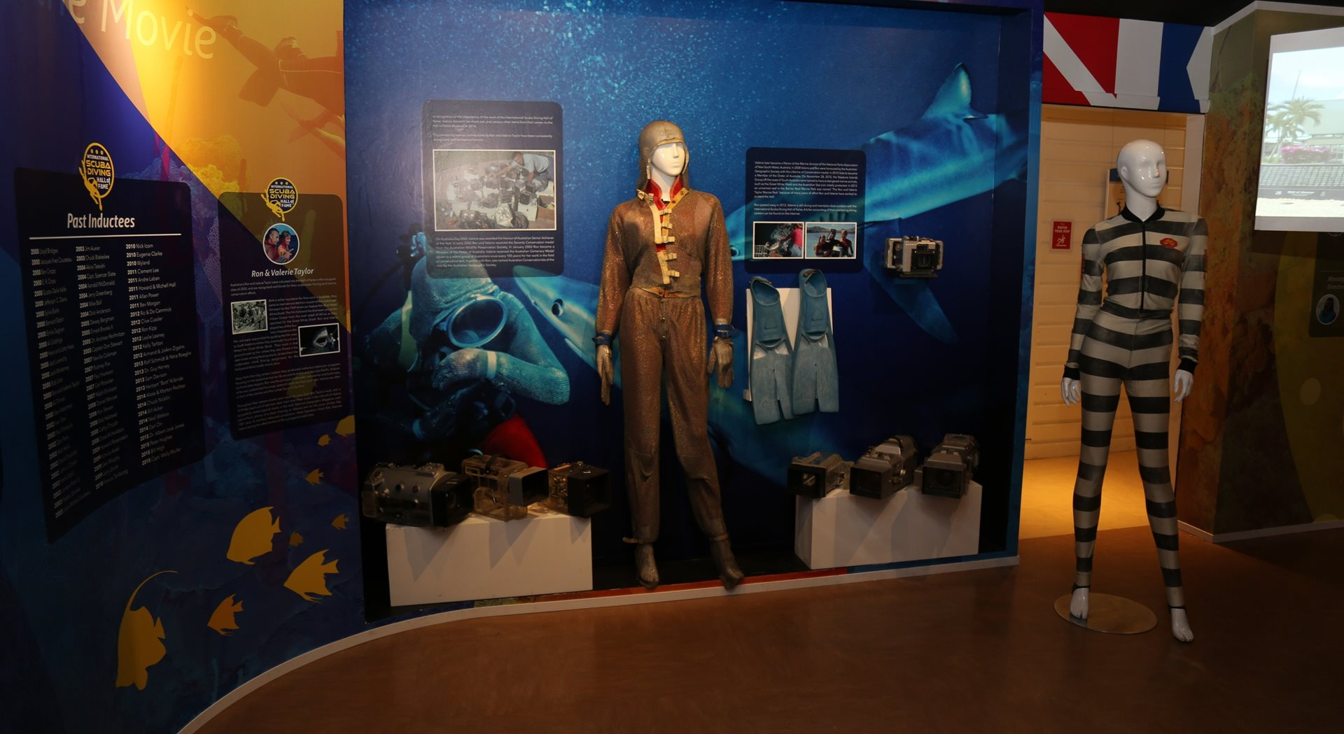 LEGENDS OF SCUBA DIVING AT THE CAYMAN ISLANDS NATIONAL MUSEUM