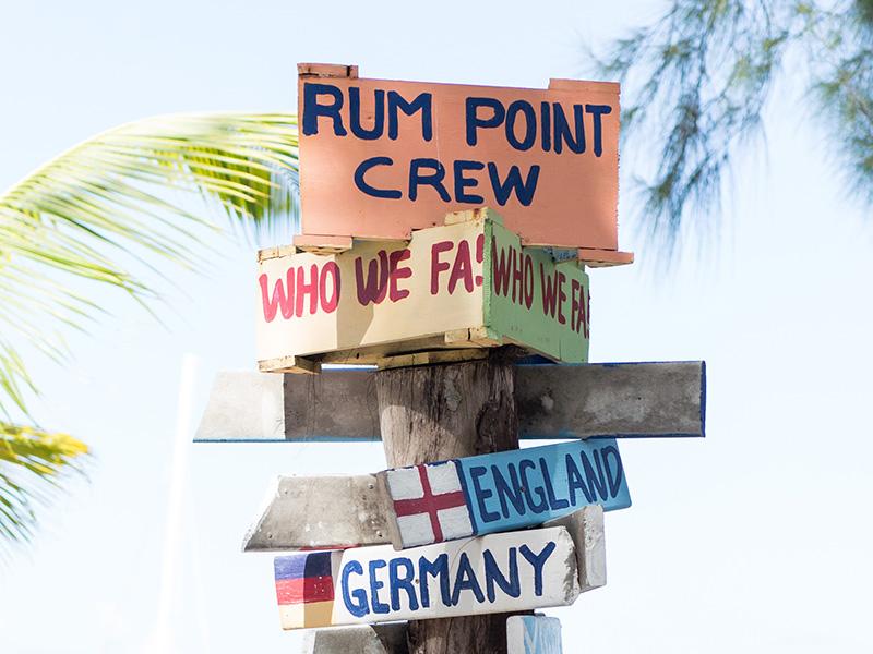 Rum Point pointers