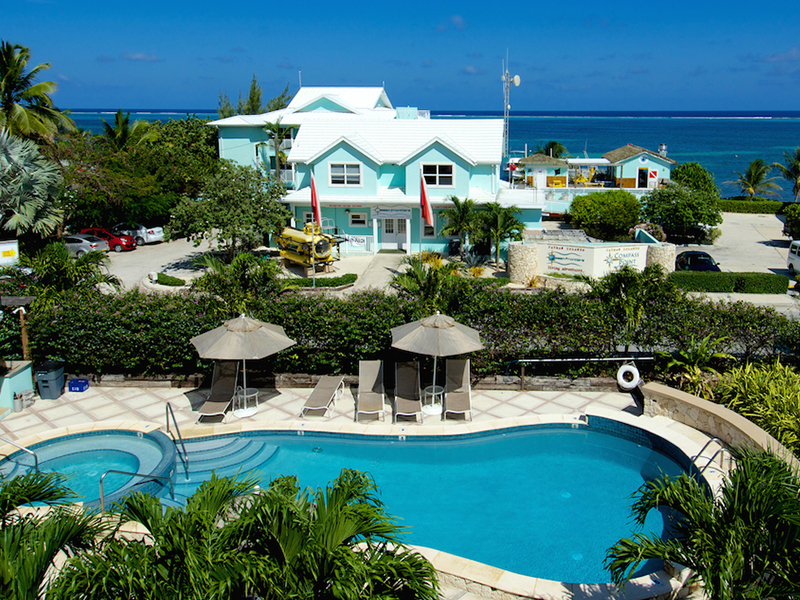 Month 3: Compass Point Dive Resort in Grand Cayman