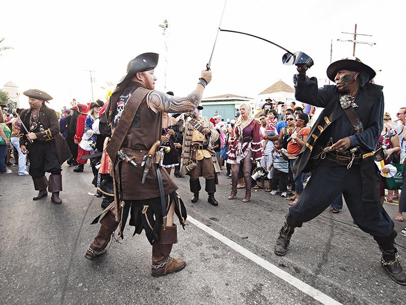 Pirates Week Highlights