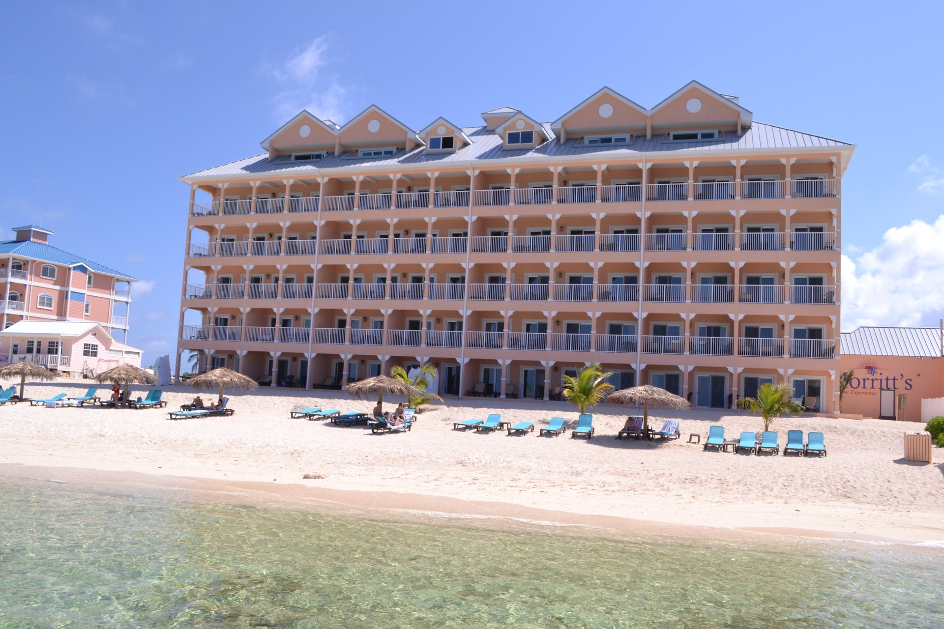 The premier vacation ownership destination in the Cayman Islands is Morritt's resort.