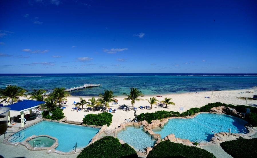 Wyndham Reef ResortaSet on a private white sand beach, the family-run Wyndham Reef Resort, Grand Caiman offers an outdoor pool, gym and spa treatments.