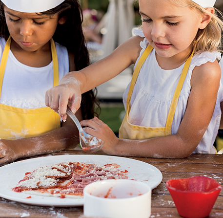 Experience Kid-Friendly Menus