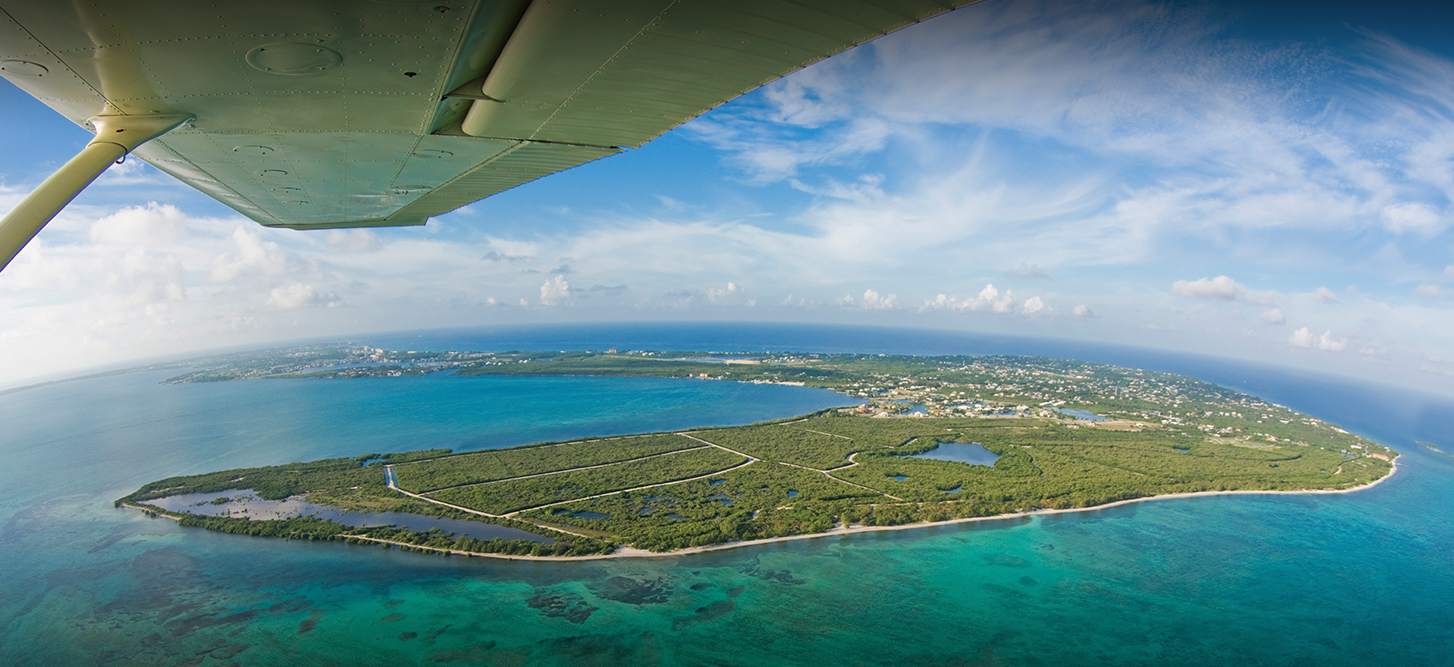 Aerial View Cayman Islands