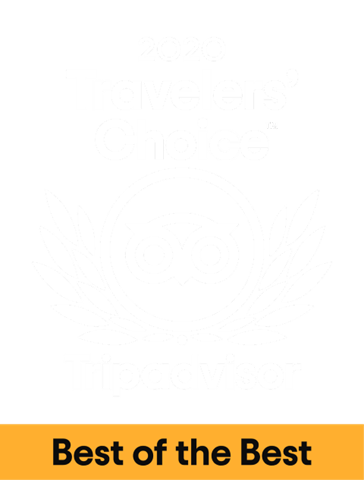 2020 Traveler's Choice by TripAdvisor